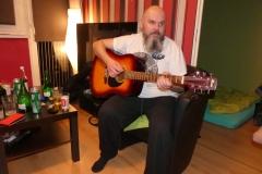 Artur Sitnik i jego gitara